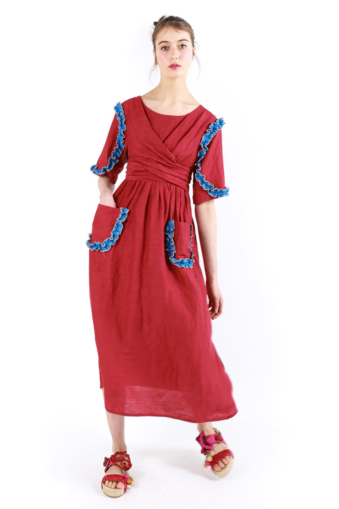 """Senorita"" Long Dress"