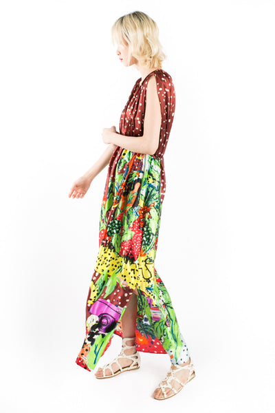 """Cuban Jungle"" Gown"