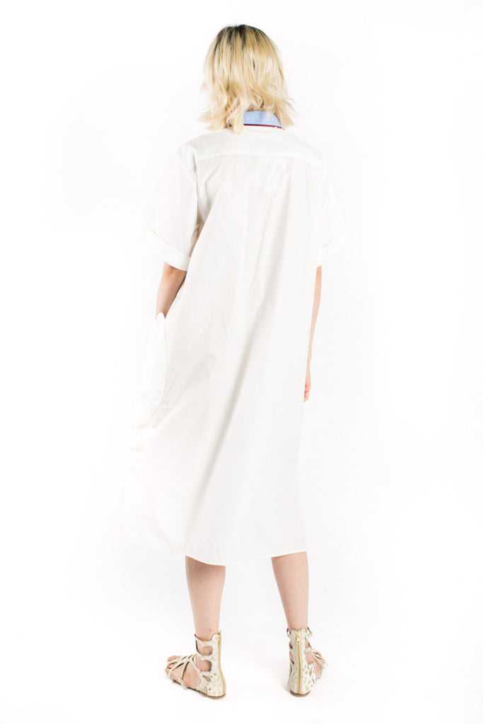 """Cloud"" Shirt Dress"