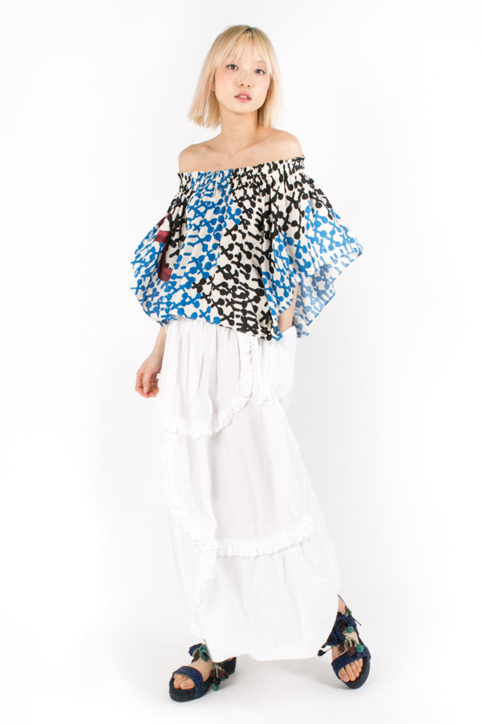 «Maracas» Off-The-Shoulder Top