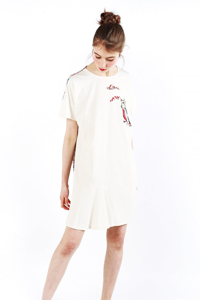« Love  Birds » Cotton Dress