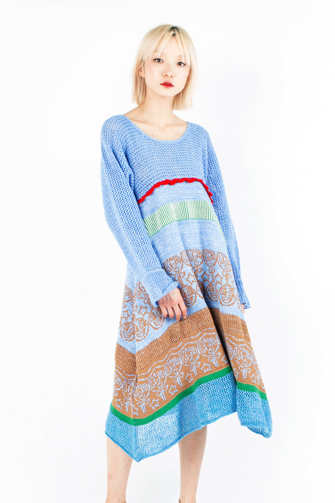 «Cubanista» Knit Dress
