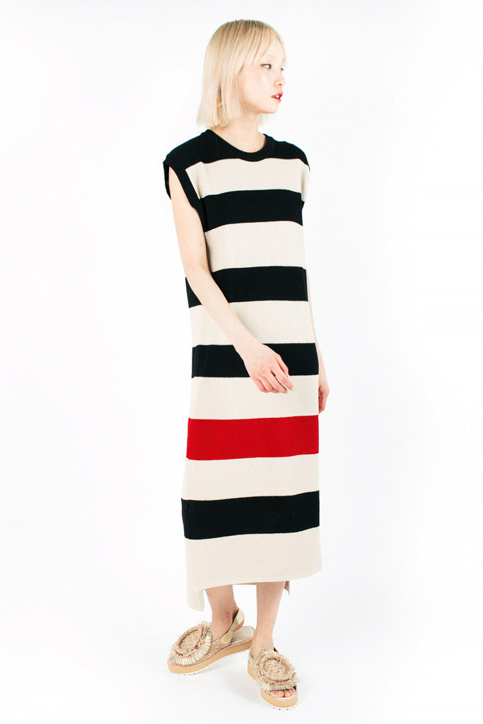 «Hola» Striped Dress