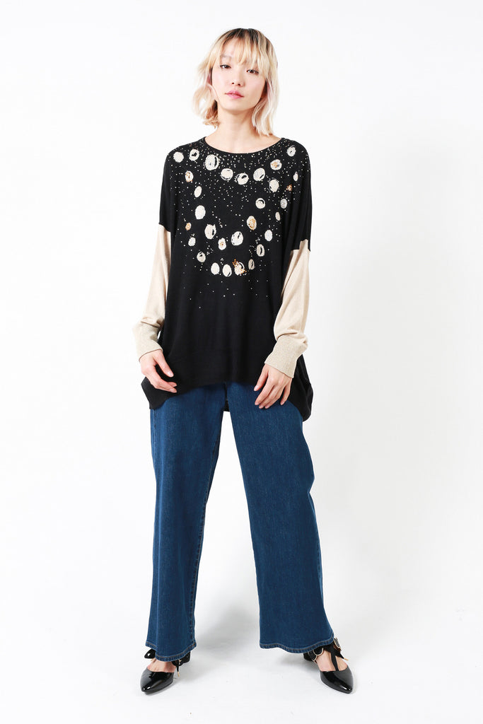 """Pearls Necklace"" Sweater"