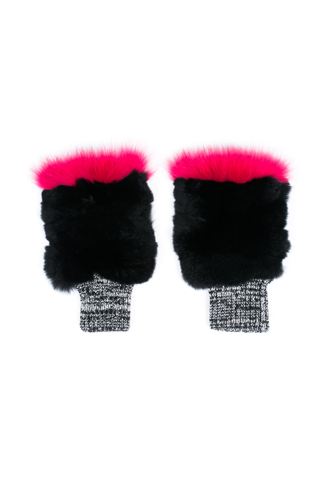 """Paint Brush"" Fur Mittens"