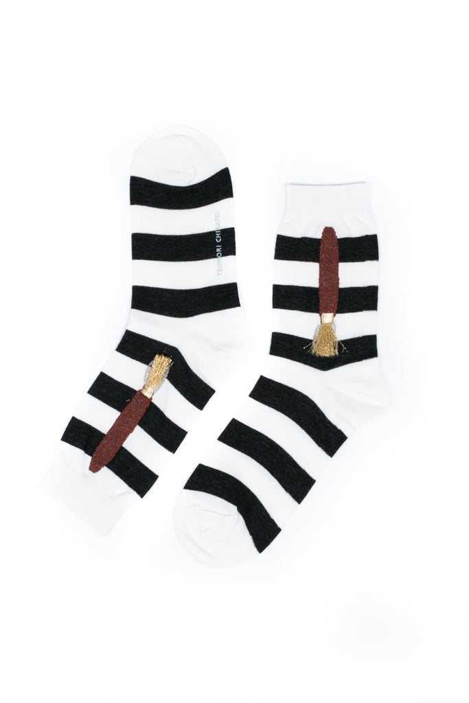 """Paint Brush"" Socks"