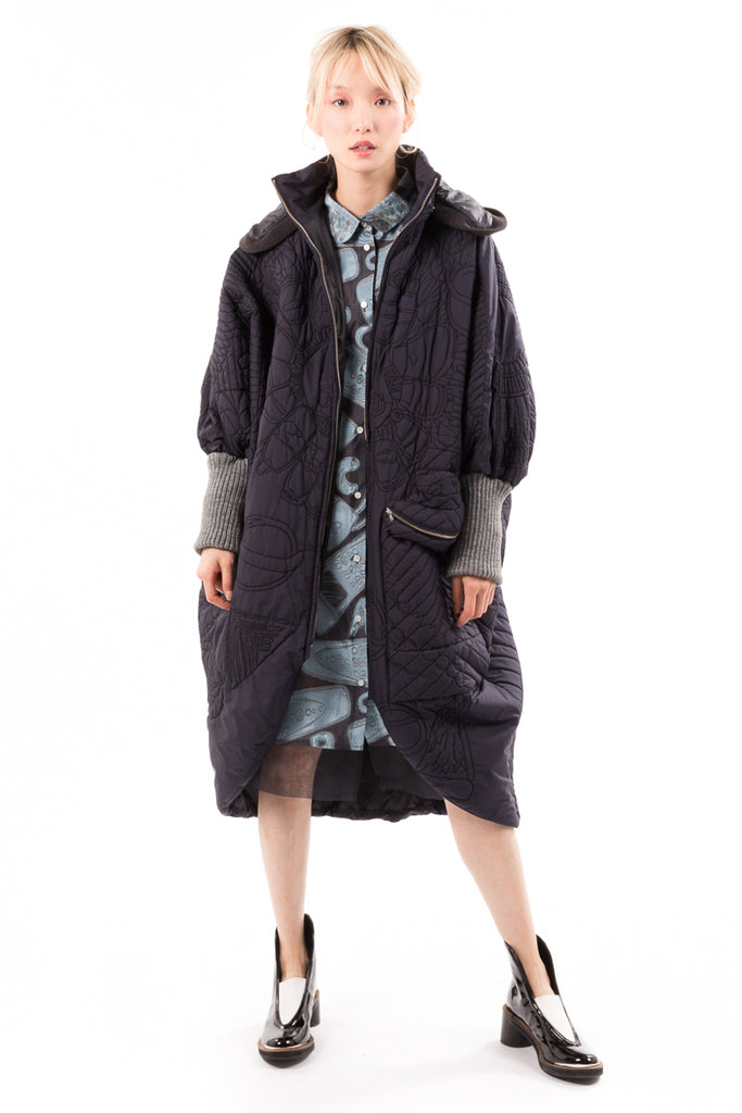 Spacy Quilting Coat