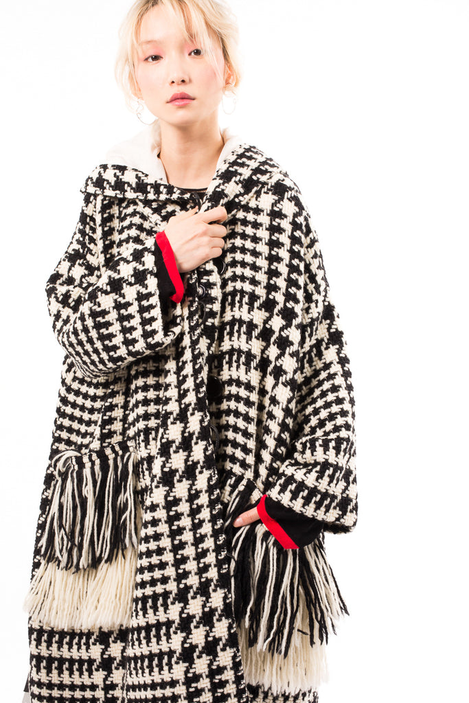 Basket Wool Long Coat