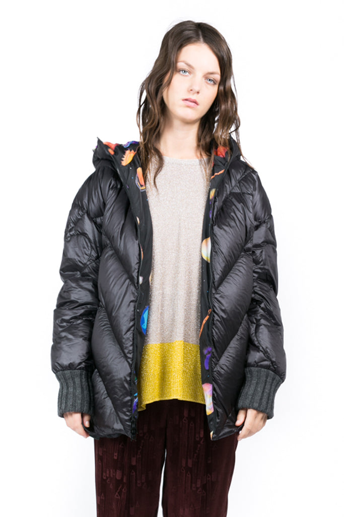 """Cosmic"" Quilted Coat"
