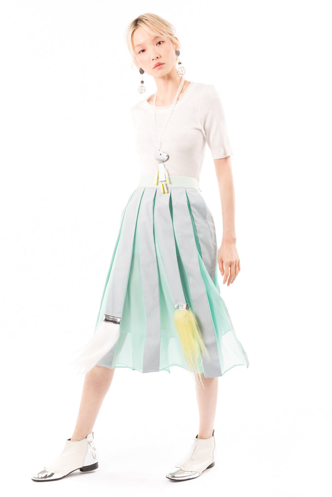 Brush Pleats 2 Skirt