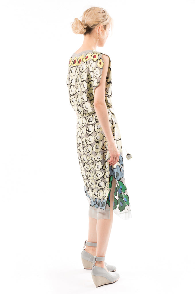 Flower Pyramid Opal Dress