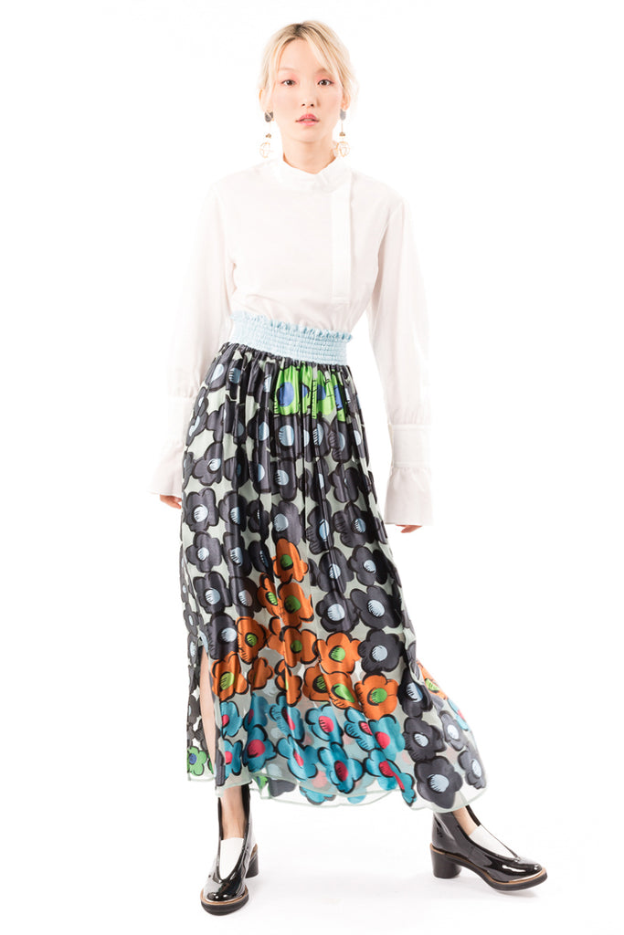 Flower Pyramid Opal T Skirt