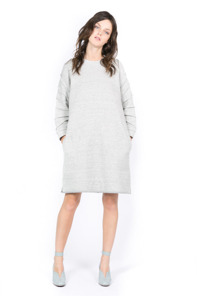 """Palette"" Sweatshirt Dress"