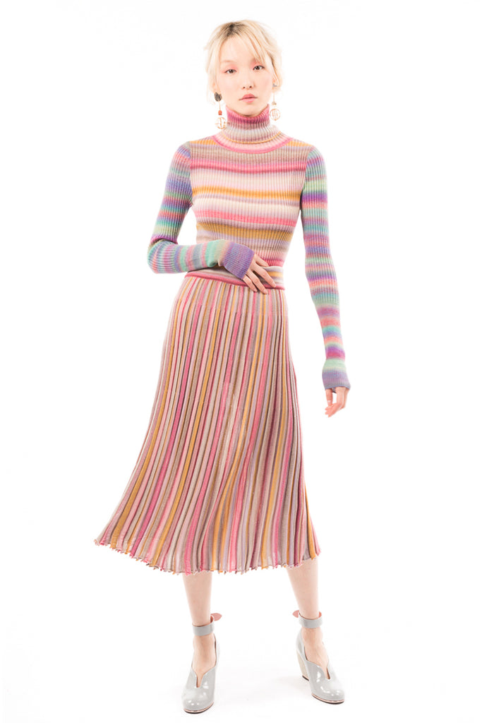 Gradient Knit skirt