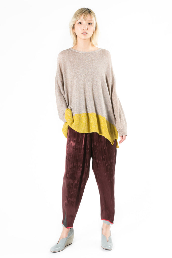 Lurex Oversize Sweater