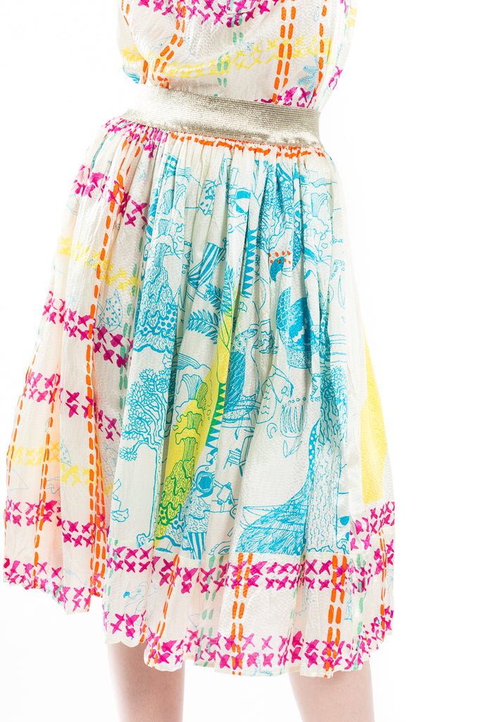 """NZ"" Silk Skirt"