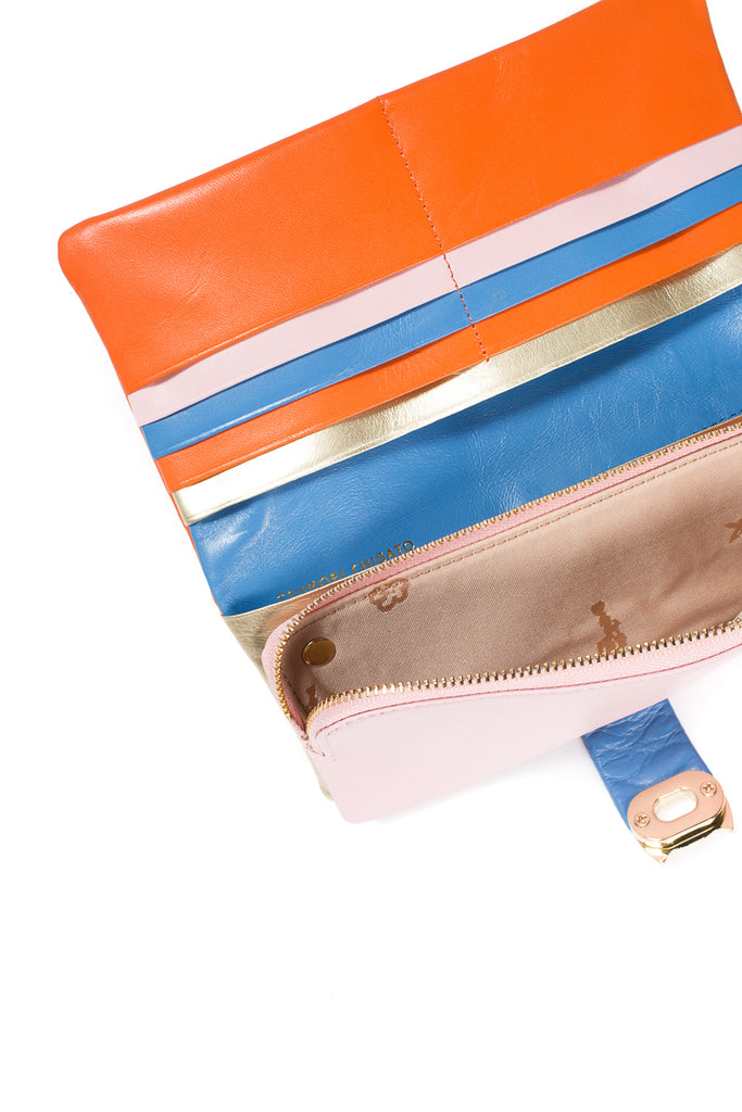 """Paradise Island"" Leather Wallet"