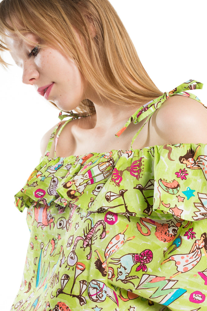 """Horoscope"" Sleeveless Top"