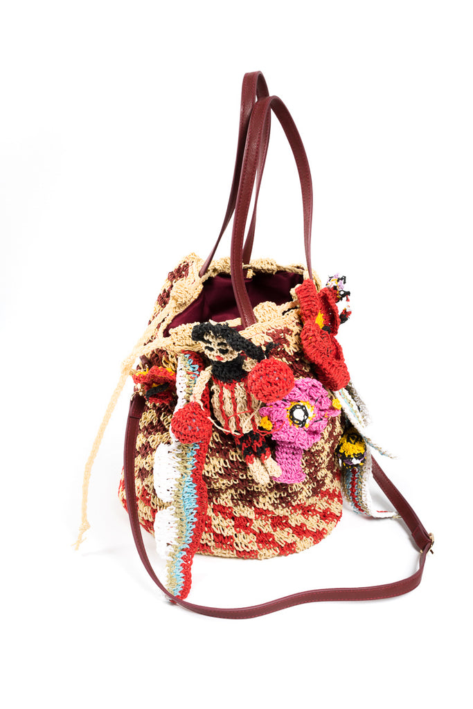 """Reef Creature"" Basket Bag"