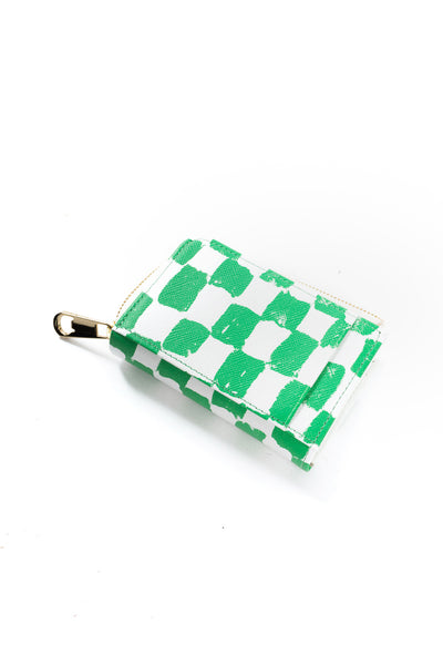 Checker Purse