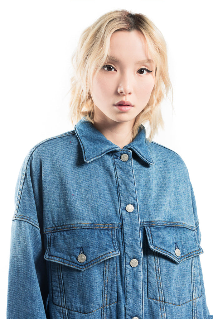 """Syhtam Bore Denim"" Jacket"