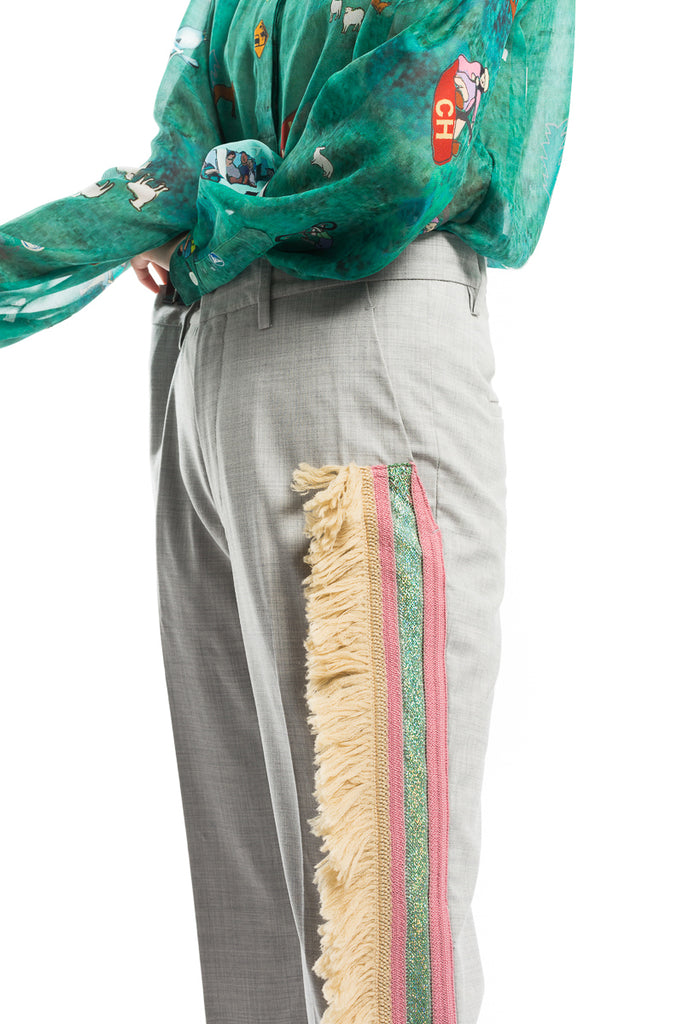 """Wool Tropical"" Pants"