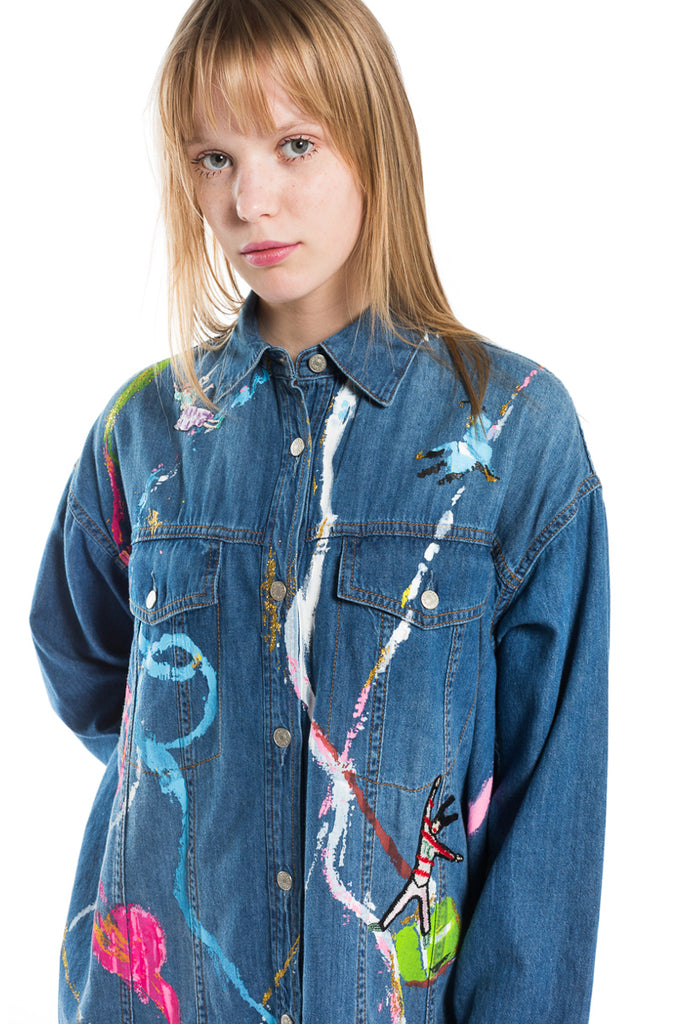 """Light Salvedge"" Denim Dress"