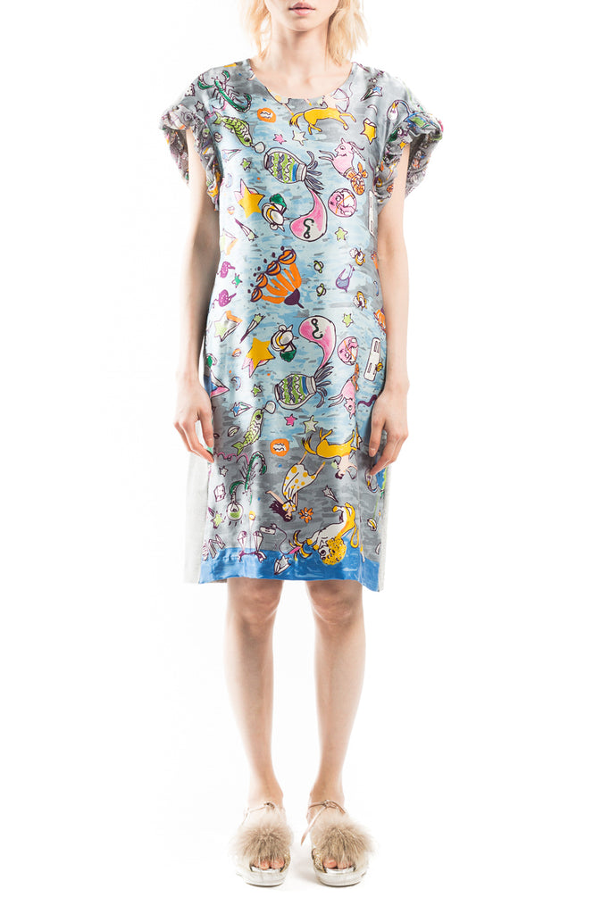 """New Horoscope"" Docking T Dress"