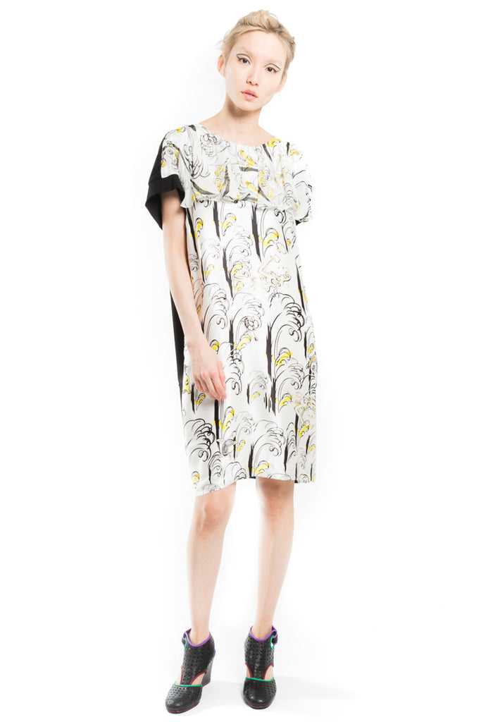 """Wave and Girl"" Docking Dress"