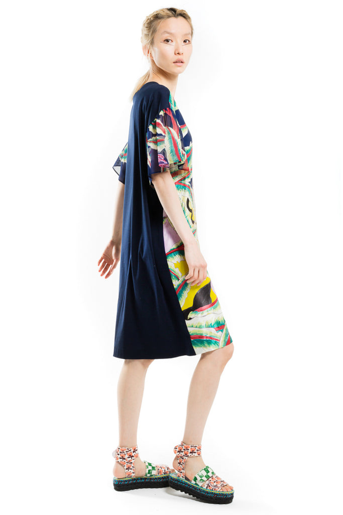 """Aloha Landscape"" Docking Dress"