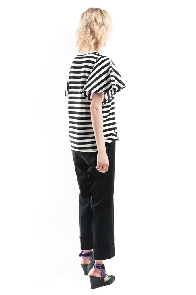 """Stripe Docking T Happy Bungee"" Sailor Top"