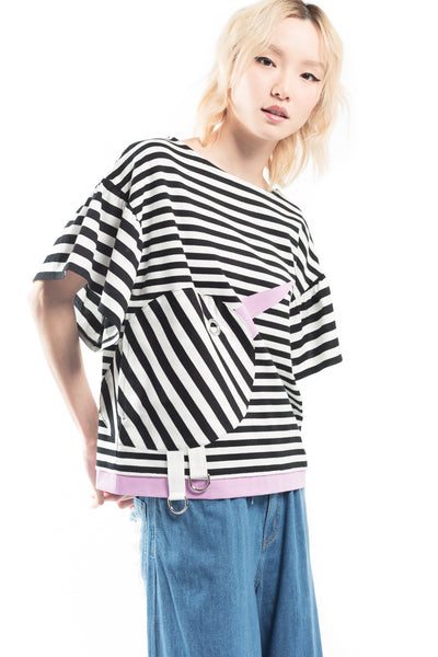 """Stripe Docking Kiwi "" T Top"