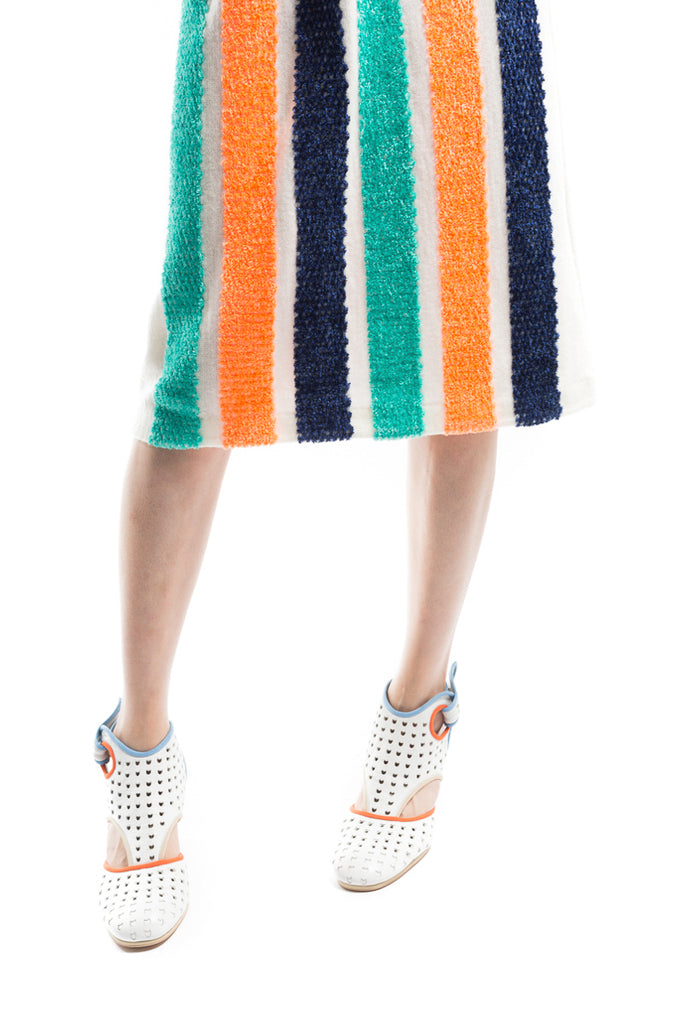 """Thread Stripe"" Skirt"
