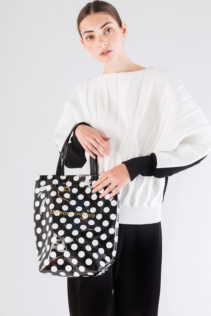 Translucent Polka Dot Bag