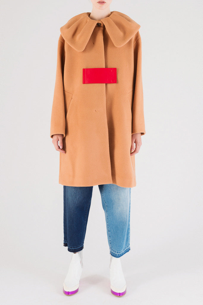 Wool Melton Coat