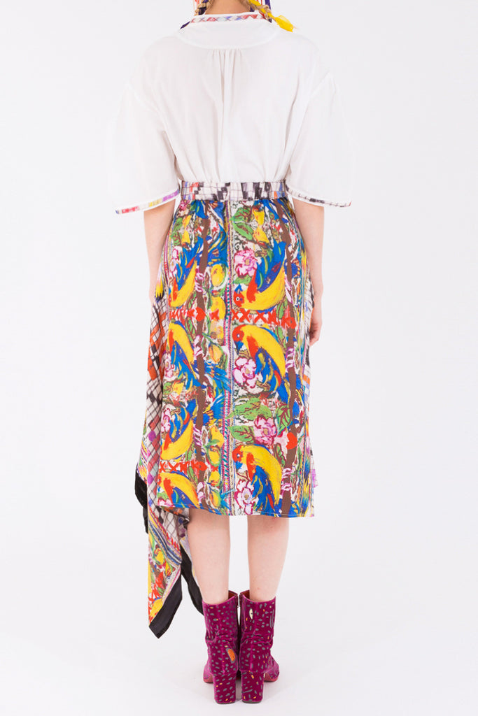 """Guatemala Bird"" Skirt"