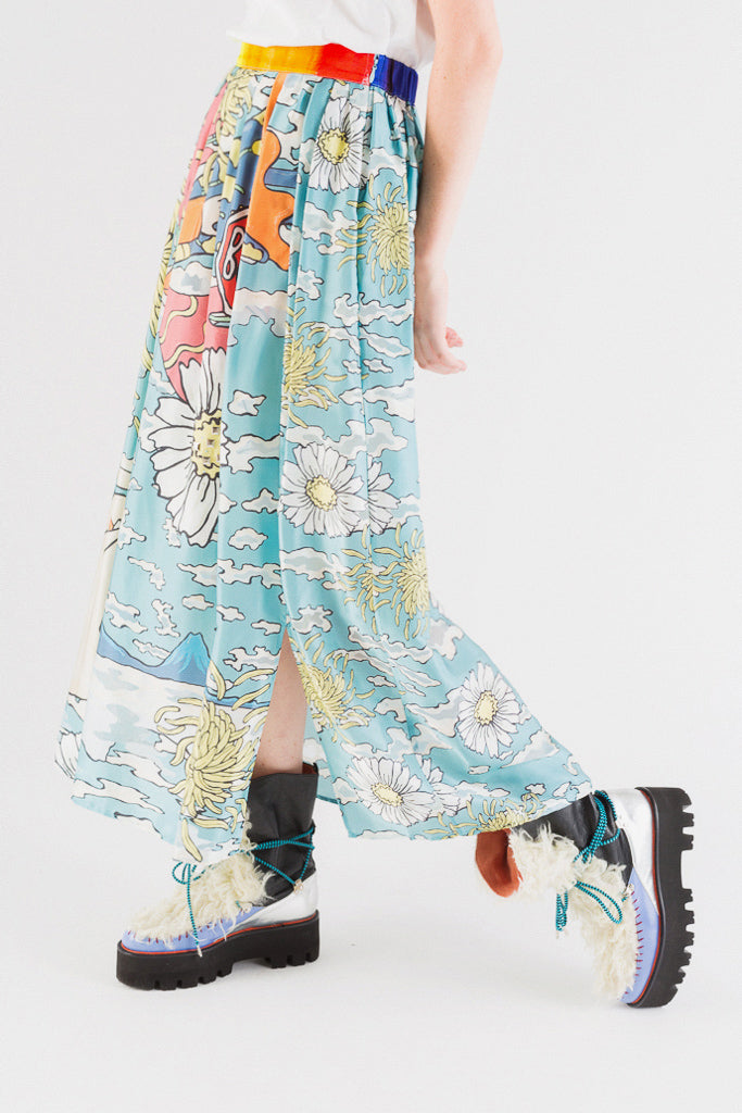 Guatemala Landscape Long Skirt