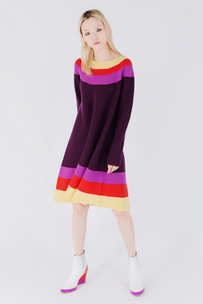 Guatemala Rainbow Wool Dress