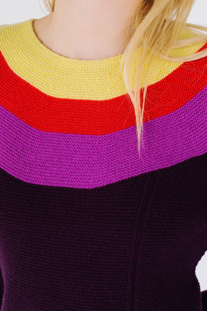 Guatemala Rainbow Wool Sweater