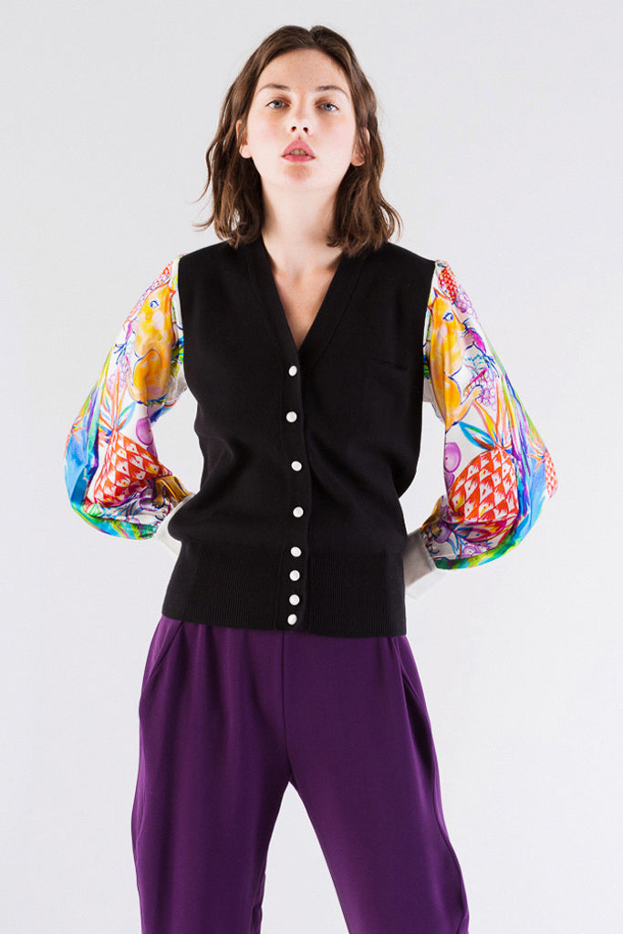 Animal Docking Cardigan