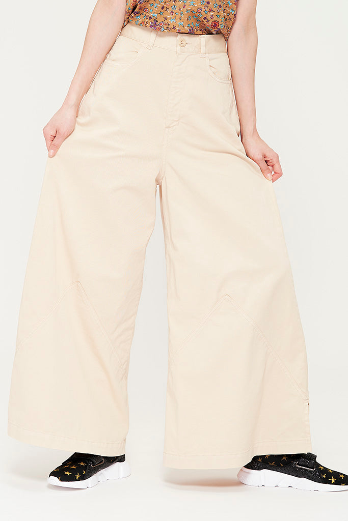 Pyramid Wide Cotton Pants