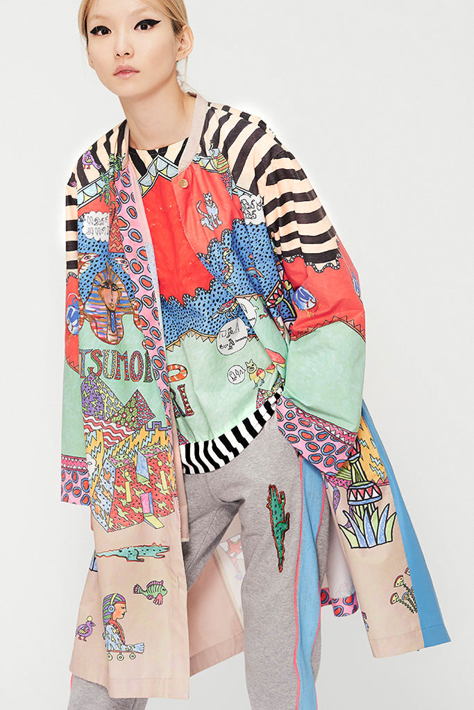 Egyptian Graffiti Coat