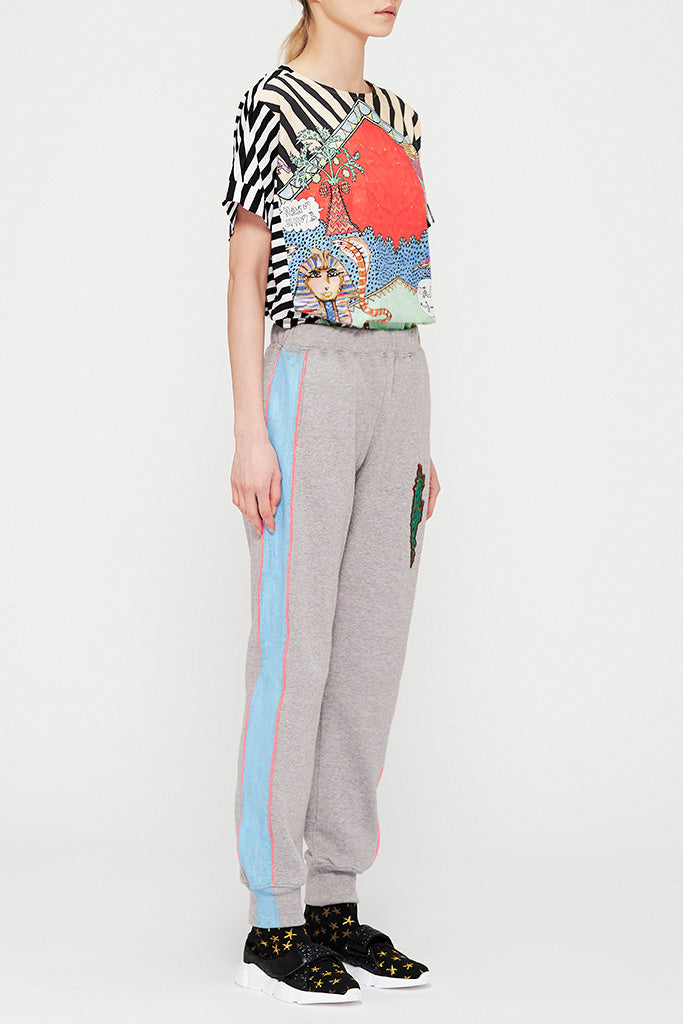 Crocodile Sweat Pants