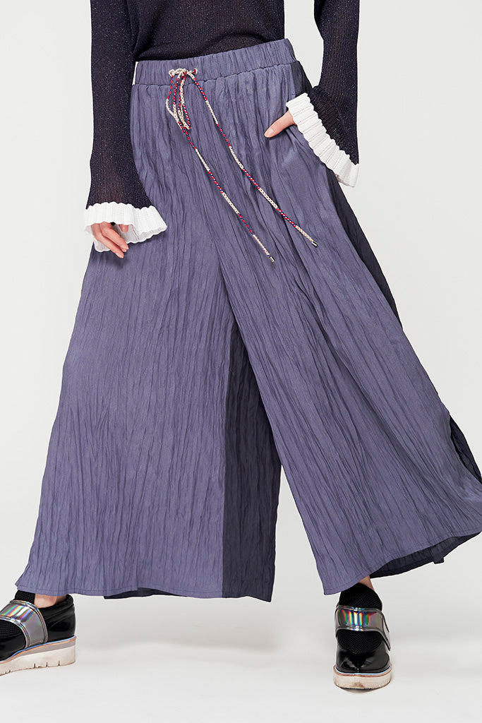 Pleat and Crease Pants