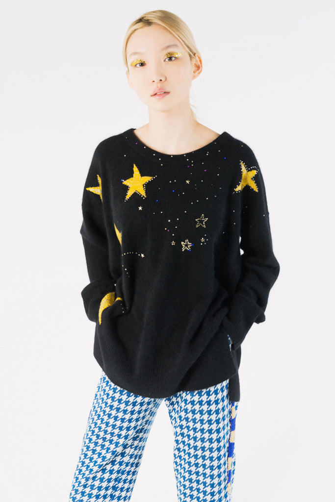 Comets & Stars Knitted Sweater