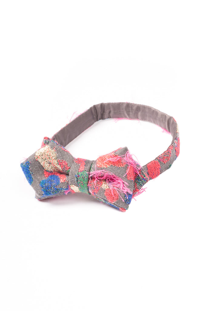 Colorful Dot Jacquard Bow Tie