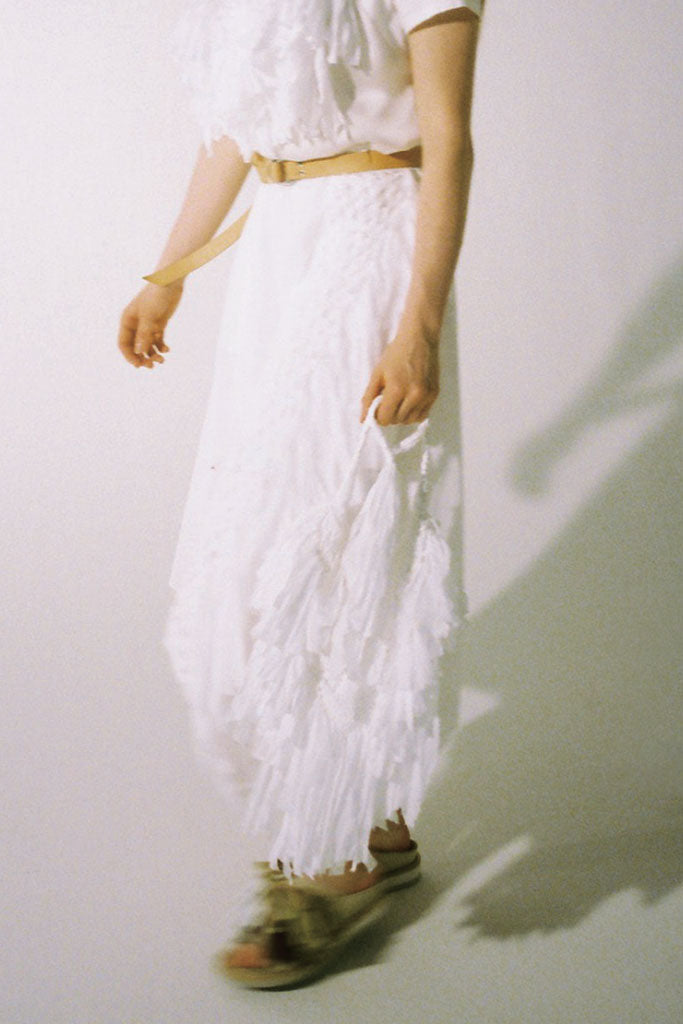 Macrame Combination Skirt