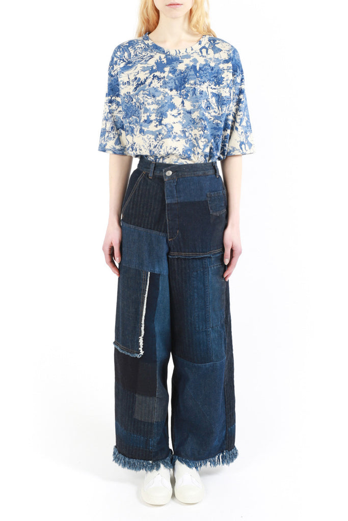 « Patchwork Denim » Cargo Pants