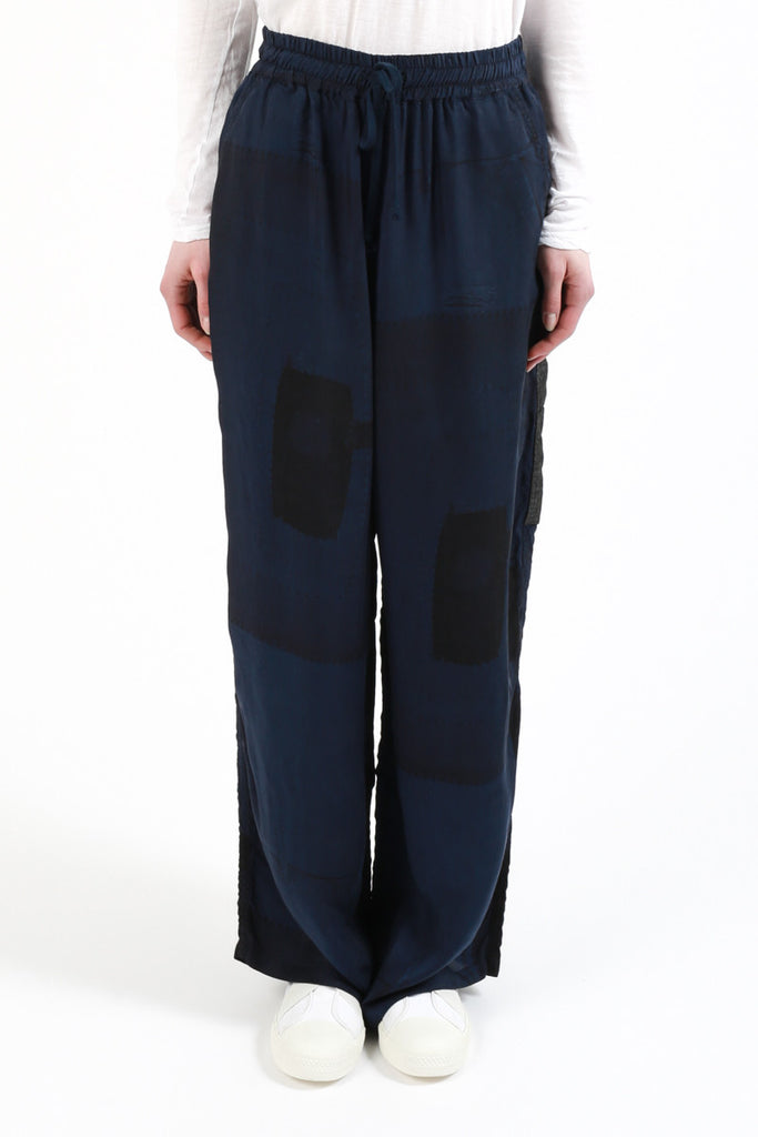 «Denim Patchwork Print» Pants