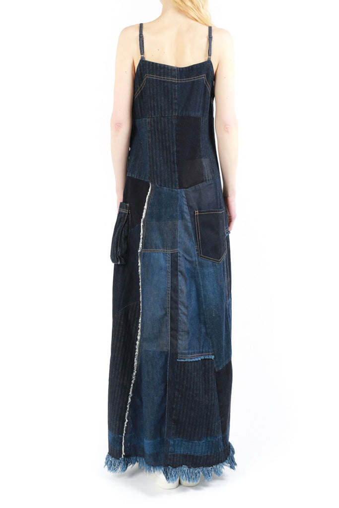 """Patchwork Denim"" Dress"